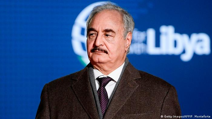 Italien 2018 | Chalifa Haftar, Warlord Libyen (Getty Images/AFP/F. Monteforte)