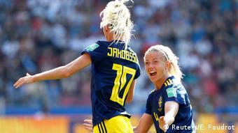 FIFA Frauen-WM 2019   Deutschland vs. Schweden   TOR Schweden (Reuters/E. Foudrot)
