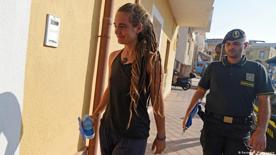 Empörung und Solidarität nach Festnahme der Sea-Watch-Kapitänin