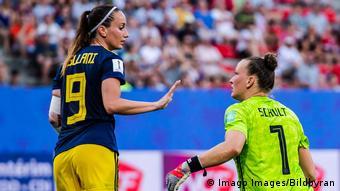 FIFA Frauen-WM 2019   Deutschland vs. Schweden (Imago Images/Bildbyran)