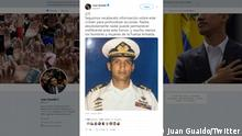 Screenshot Twitter Account Juan Guaido