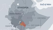 INFOGRAFIK Äthiopien: Konfliktreiche Grenzregion EN