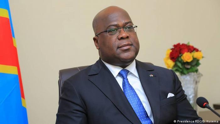 Rais wa Jamuhuri ya Kidemokrasia ya Congo Felix Tshisekedi