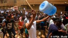 Sudan Khartum Massenproteste der Opposition