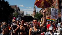 USA 2019 World Pride NYC and Stonewall 50th LGBTQ Pride day in New York
