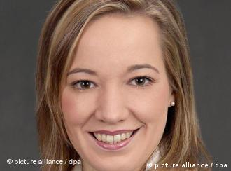 Chrisitian Democrat Family Minister Kristina Koehler, Germany's youngest cabinet minister