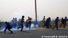 Sudan Khartum | Protest gegen Militärregierung | Einsatz von Tränengas