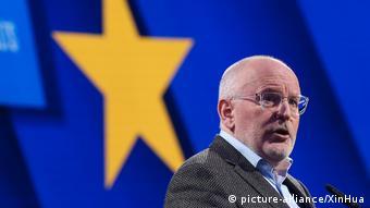 Франс Тиммерманс - кандидат на пост главы ЕК от социал-демократов