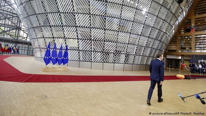 Belgien EU-Sondergipfel Brüssel   Emmanuel Macron