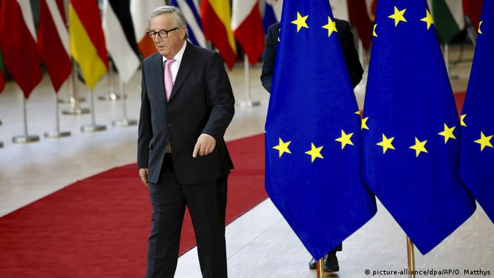 EU-Sondergipfel in Brüssel - Jean-Claude Juncker