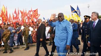DR Kongo Präsident Felix Tshiszkedi