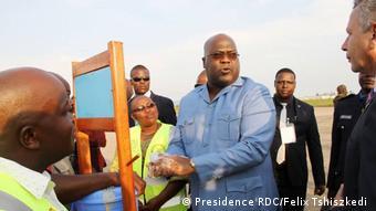 DR Kongo Präsident Felix Tshiszkedi (Presidence RDC/Felix Tshiszkedi )