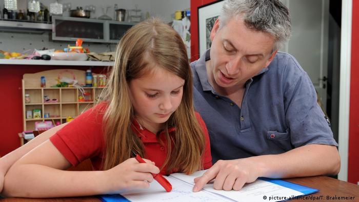 Не всегда и не у всех домашнее обучение проходит так мирно