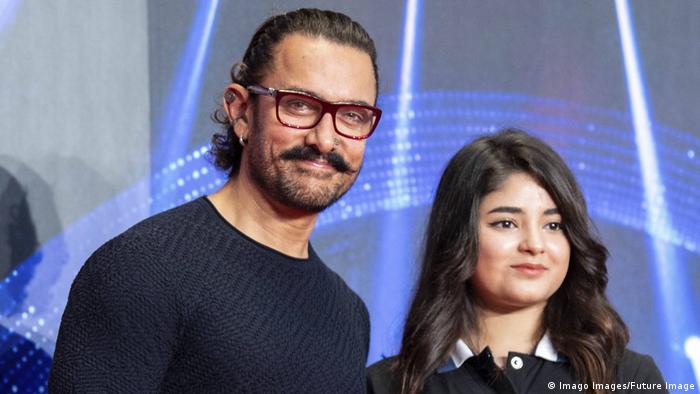 Aamir Khan und Zaira Wasim (Imago Images/Future Image)