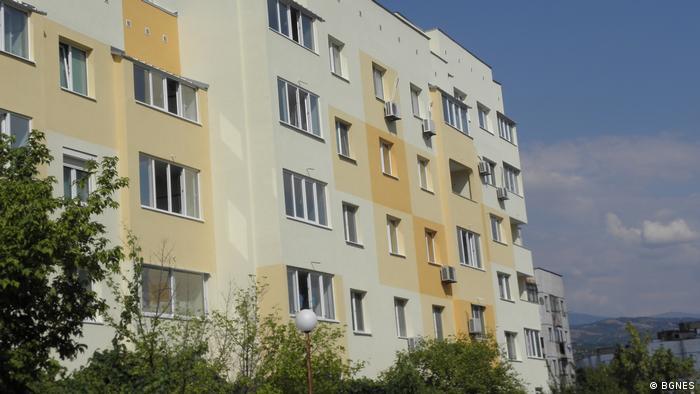 Жилищна сграда, санирана по програмата за енергийна ефективност