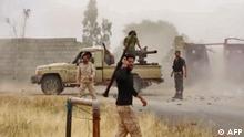 Libyen LNA Kämpfer