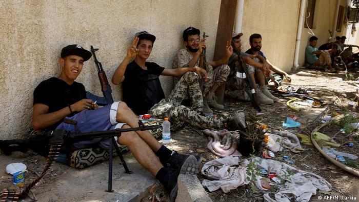 Libyen Bürgerkrieg (AFP/M. Turkia)