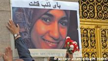 Deutschland Ein Jahr nach Mord an Ägypterin in Dresden