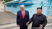 Treffen Kim und Trump Juni 2019