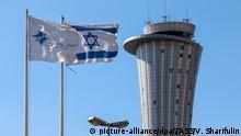 Israel Tel Aviv Ben Gurion Flughafen
