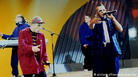 Die Fantastischen Vier live 90er Jahre (picture-alliance/jazzarchiv)