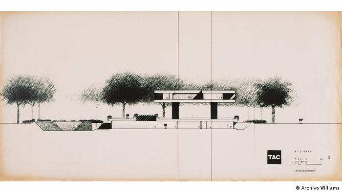 Architectural design by Roesner (Archivo Williams)