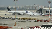 Israel Ben Gurion Flughafen in Tel Aviv
