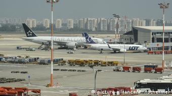 Аэропорт Бен Гурион под Тель-Авивом