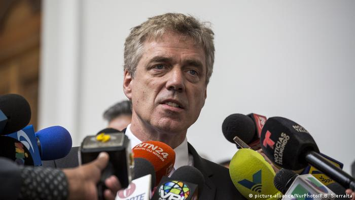Venezuela deutsche Botschaft in Caracas | Daniel Kriener, Botschafter
