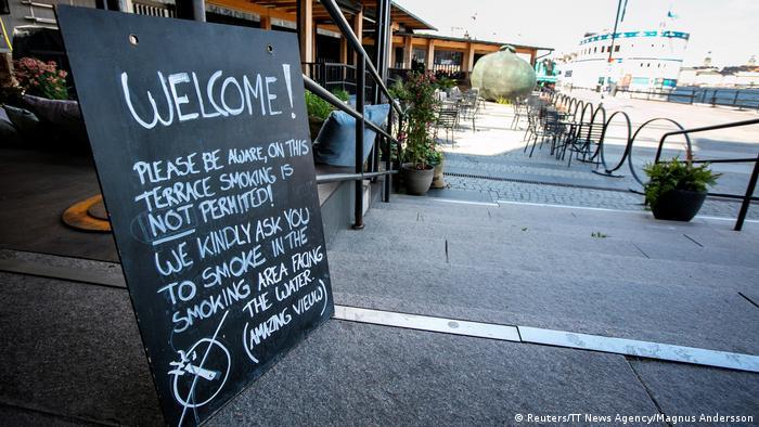 Нова заборона куріння у Швеції поширюється і на тераси барів та ресторанів