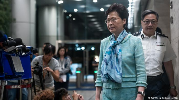Hongkong Regierungschefin Carrie Lam (Getty Images/A. Kwan)