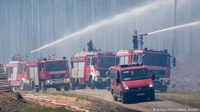 Waldbrand Mecklenburg Vorpommern Aktuell