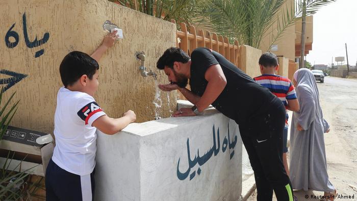 Libyen Krise in Trinkwasser-Versorgung (Reuters/H. Ahmed)