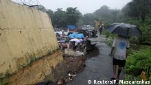Indien Überflutungen in Mumbai