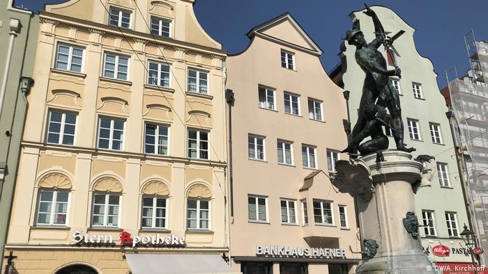 Mercury Fountain, Augsburg, Germany