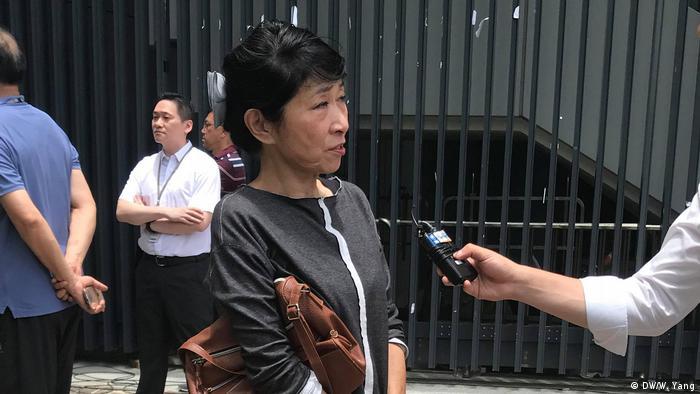 La académica de la Universidad China de Hong Kong, Mo Man-ching no ve una solución al conflicto.