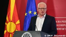 Dragi Raskovski Generalsekretär nordmazedonische Regierung