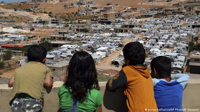 Arsal Libanon Flüchtlingslager (picture-alliance/AP Photo/B. Hussein)