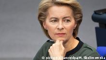 Bundestag Ursula von der Leyen