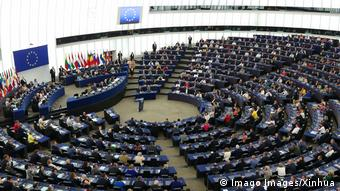 Frankreich Strasbourg Europa Parlament (Imago Images/Xinhua)