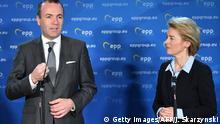 Manfred Weber EVP Kandidat mit von der Leyen
