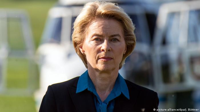 وزيرة الدفاع الألمانية رئيسة