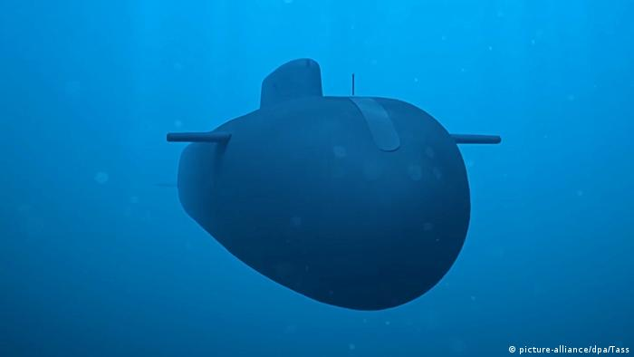 The Poseidon nuclear-powered and nuclear-armed unmanned underwater vehicle during the final stage of testing