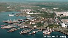 Russland Nordflotten-Basis Seweromorsk