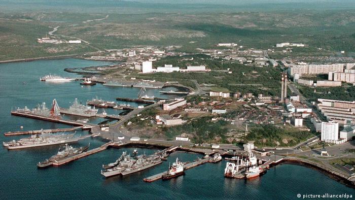 Военно-морская база в Североморске