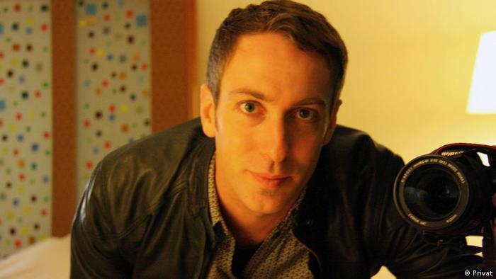 Brian Griffey, da Anistia Internacional, é autor do relatório Salvar vidas não é crime