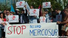 Demo gegen Mercosur Agreement