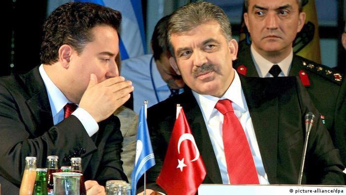 Ali Babacan und Abdullah Gül Türkei