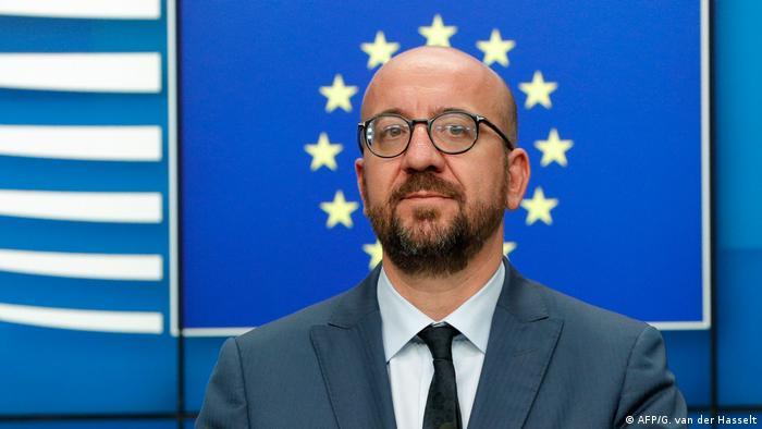 Belgien Premierminister Charles Michel (AFP/G. van der Hasselt)
