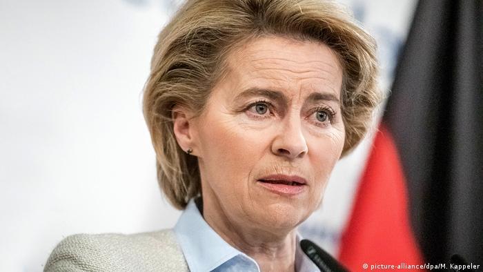 Ministra da Defesa da Alemanha, Ursula von der Leyen